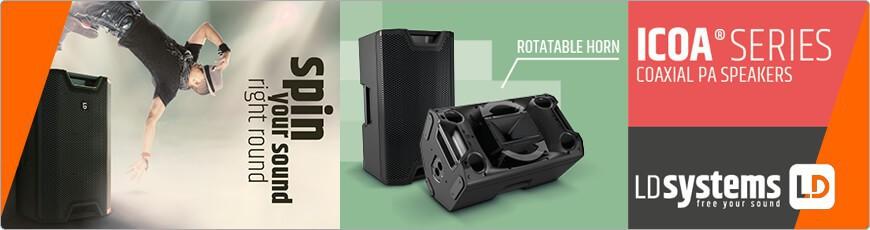 De LD Systems ICOA serie koop je uiteraard bij DJ-Verkoop