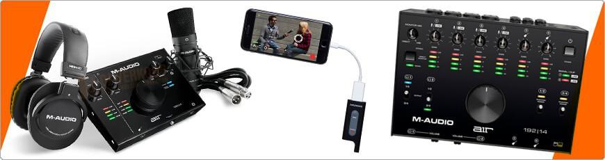 Geluidskaart geschikt voor opnamen op telefoon of tablet