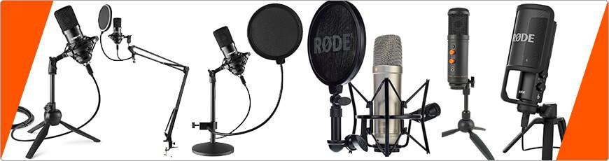 Gaming Studio microfoon. Als echte gamer moet je natuurlijk ook goed kunnen communiseren!