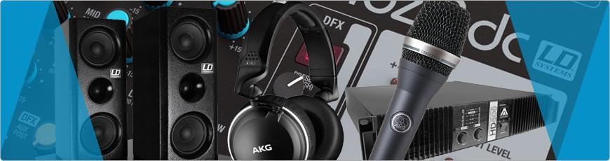 Geluid installatie koop je bij DJ-Verkoop Zang, Geluid Apparatuur