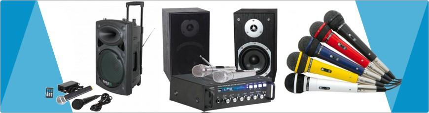 Karaoke geluid Apparatuur kopen? ga naar dj-verkoop in zaandam