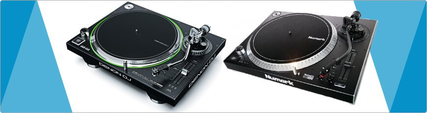 DJ Draaitafels en platenspelers koop je natuurlijk bij dj-verkoop