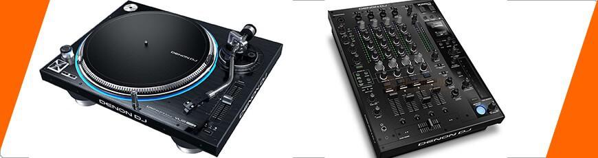 complete dj set met Draaitafels en een Mixer