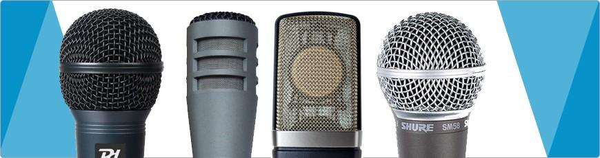Microfoons - DJ-Verkoop.nl / DJ / Studio / Producer / Zang / Licht en Geluid Apparatuur