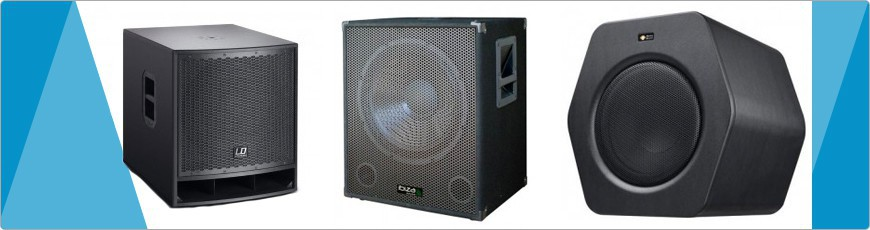 Actieve Subwoofer - DJ-Verkoop.nl / DJ / Studio / Producer / Zang / Licht en Geluid Apparatuur