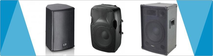 Passieve Speakers - DJ-Verkoop.nl / DJ / Studio / Producer / Zang / Licht en Geluid Apparatuur