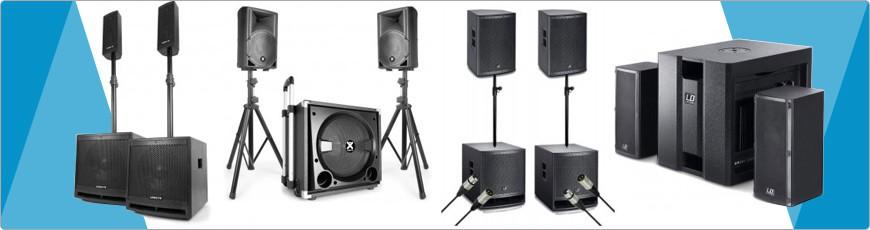 Speaker sets - DJ-Verkoop.nl / DJ / Studio / Producer / Zang / Licht en Geluid Apparatuur