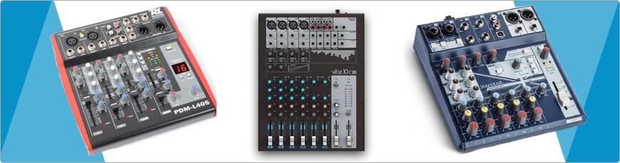 PA Mengpaneel, Mixer voor Band, Zanger, Artiest Geluid Apparatuur
