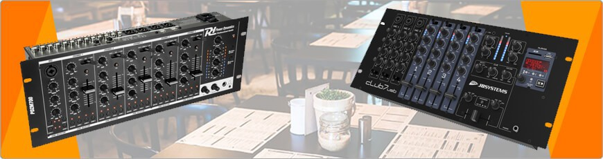 Mixers voor in het restaurant of cafe vind je voordelig en met uitstekende service bij DJ-Verkoop