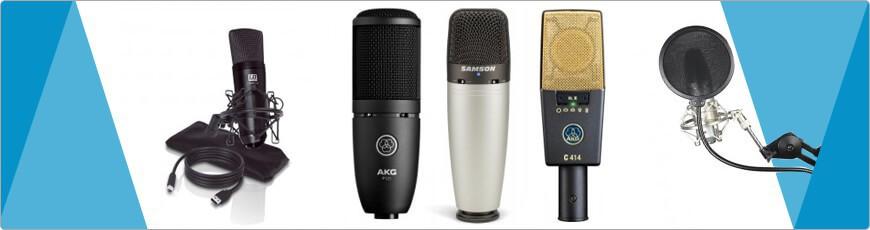 De juiste Studio Microfoon vind je bij DJ-verkoop voordelig snel