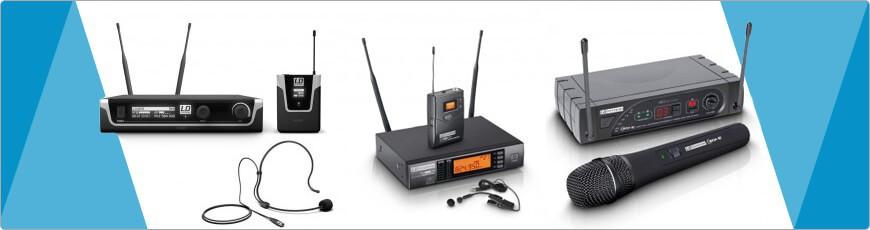 Draadloos UHF microfoons voordelig goedkoop kopen dj-verkoop