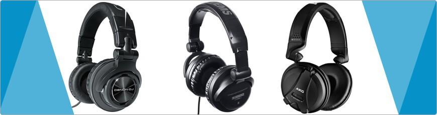 DJ Hoofdtelefoon tot studio of hifi koptelefoon voordelig en goedkoop