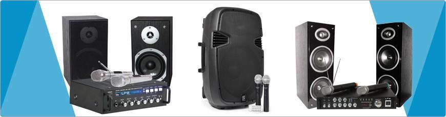 complete karaoke sets - dj-verkoop