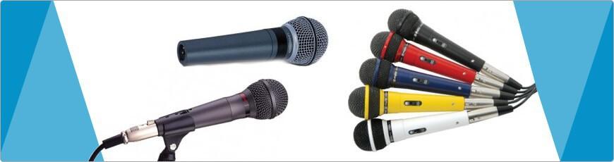 De beste bedrade microfoon vind u bij dj-verkoop!