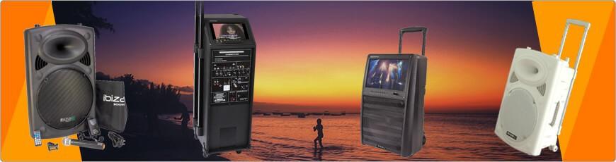 IBIZA Sound PORT Karaoke & evenementen speaker goedkoop kopen?