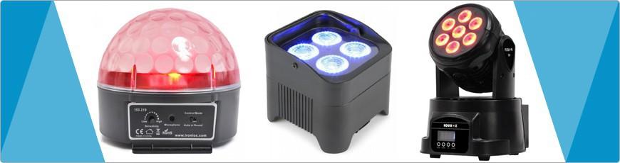 Licht Effecten voor elke light show met of zonder dmx en led