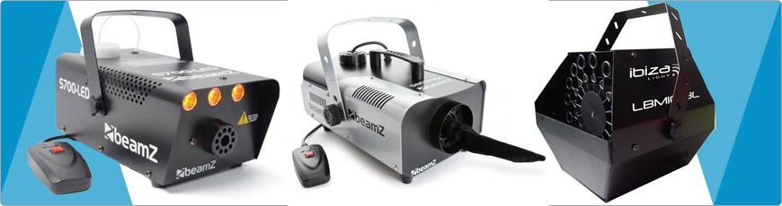 Rookmaschine Sneeuwmachine Bubble machine voordelig goedkoop kopen