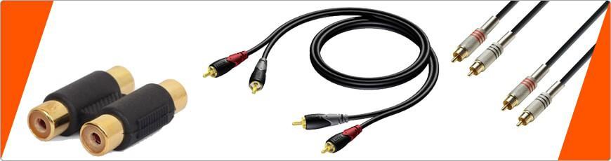 Tulp (RCA) de juiste kabel of connector vind je bij dj-verkoop