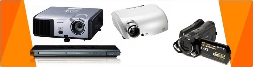 Audio / Video verhuur, TV, Beamer, Megafoon, DVD, Geluid Apparatuur