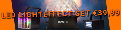 Boost lightpack10 - led lichteffect set