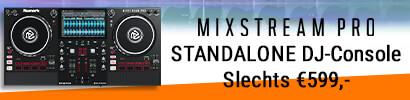 Numark Mixstream Pro - STANDALONE DJ-Console met WIFI muziek streaming en ingebouwde speakers