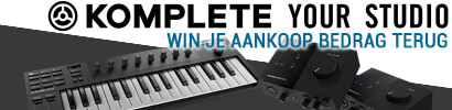NI KOMPLETE Your Studio Promotion - win je aankoop bedrag terug van een komplete M32, Audio1 of audio 2