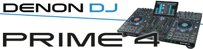 Denon DJ Prime 4 - Pro 4 deck USB standalone DJ systeem