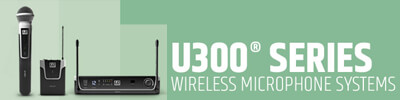 LD Systems U300 microfoons