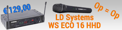 LD Systems WS ECO 16 hhd op=op aanbieding