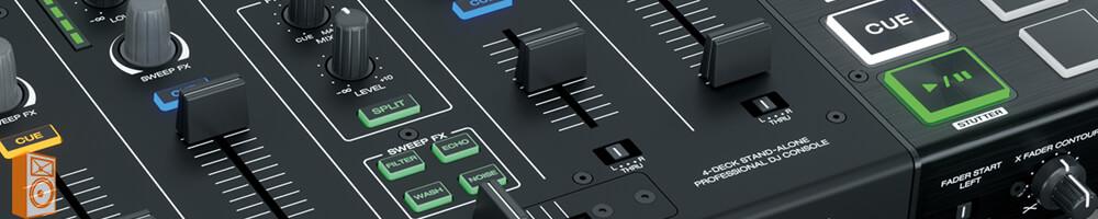 Denon DJ Prime 4 Pro 4 deck USB standalone DJ systeem mixer met efecten