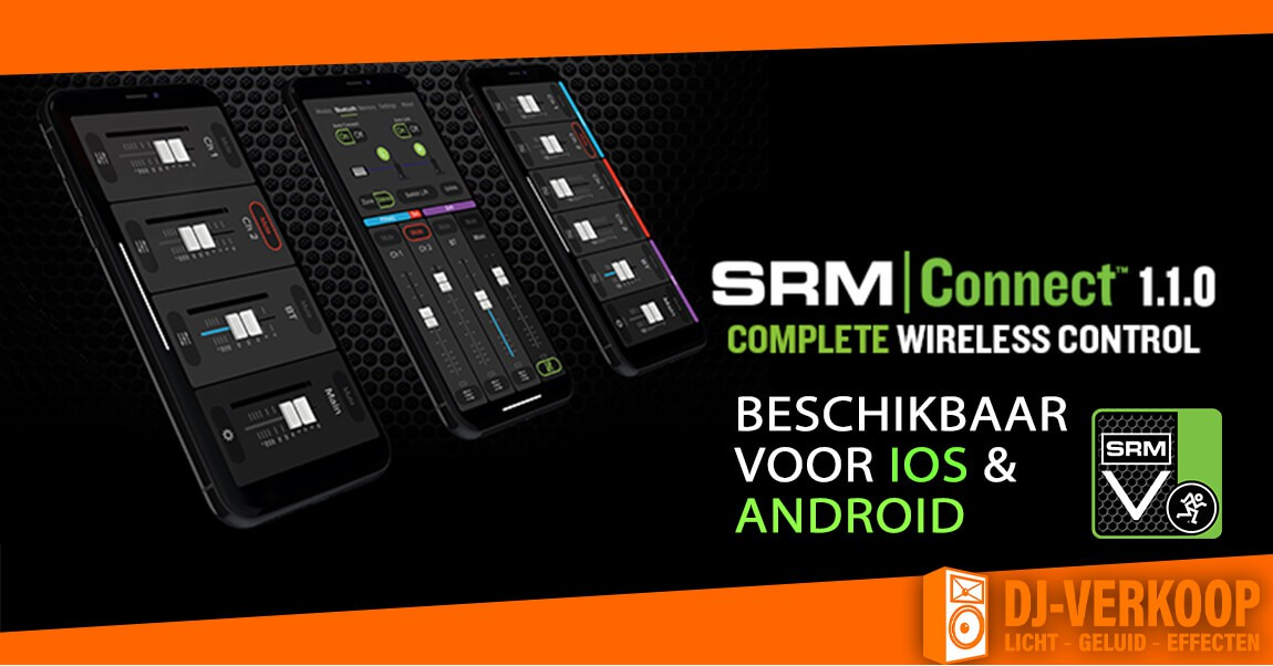 Download nu Mackie's nieuwe SRM Connect 1.1.0 update!