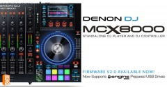 Denon DJ MCX8000 Firmware upgrade V2.0 + Engine Prime Update V1.2.1