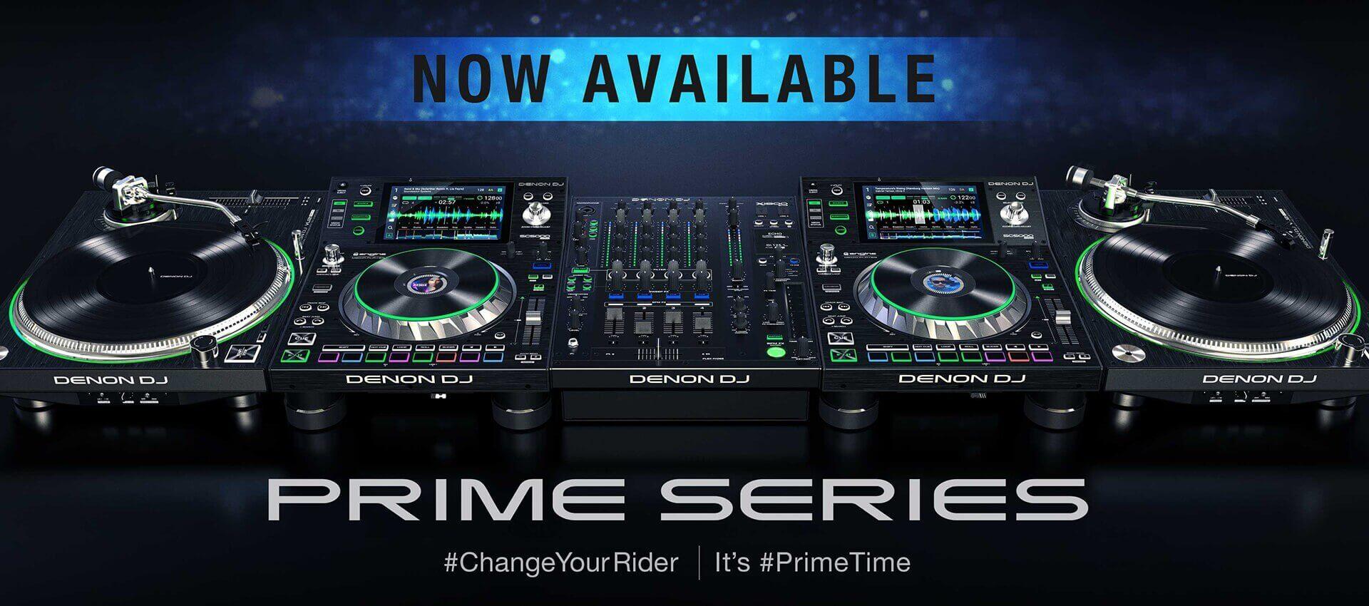 Denon DJ Prime Set NU VOORDELIG uit voorraad leverbaar!