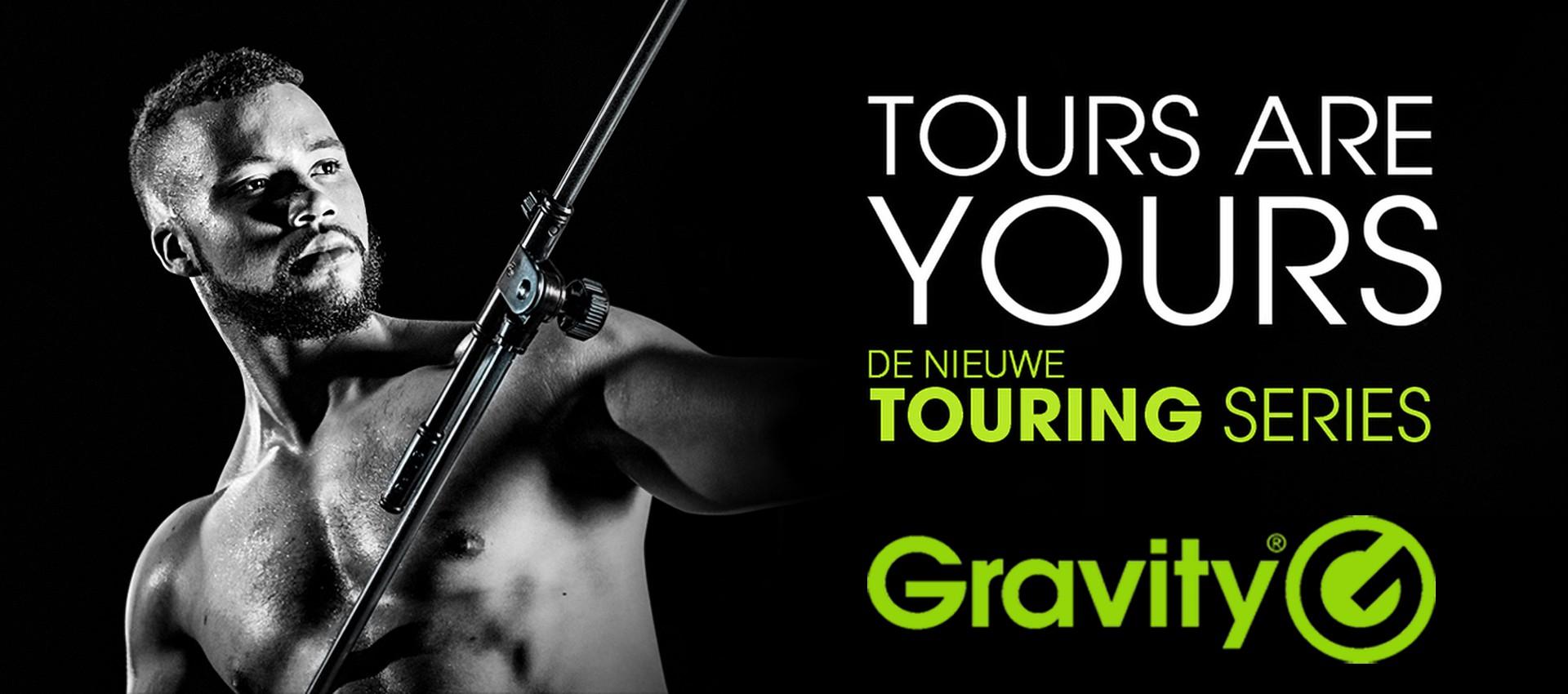 Stevig en Robuust - De nieuwe Touring Series van Gravity
