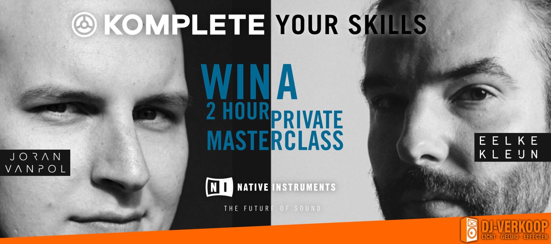Native Instruments KOMPLETE Your Skills Promotie