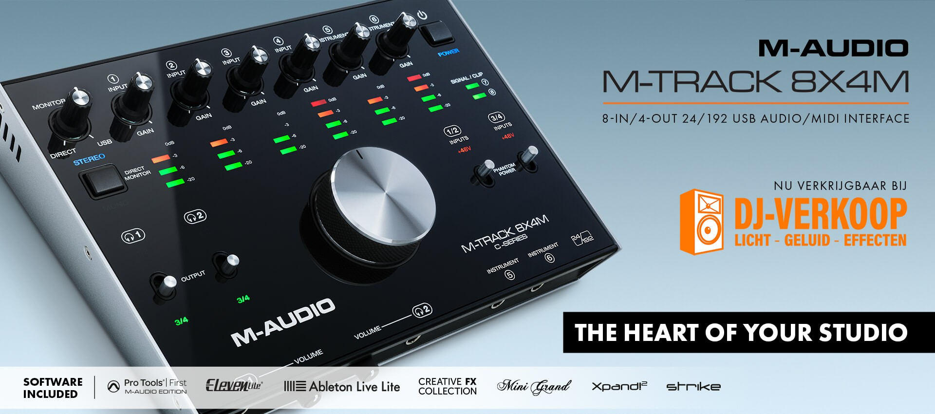 M-Audio M-Track 8x4M Audio/MIDI Interface