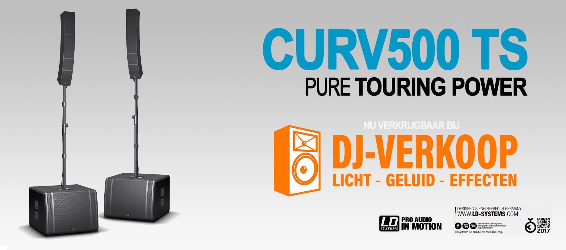 LD Systems CURV500 TS nu verkrijgbaar bij DJ-Verkoop.nl